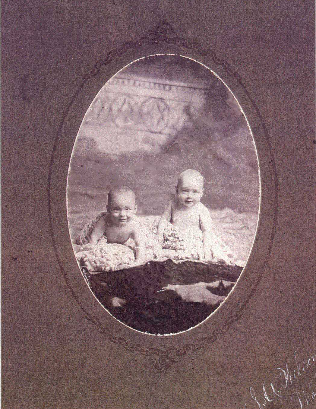 William Galbraith Brown & Orson Pratt Brown - August 1905
