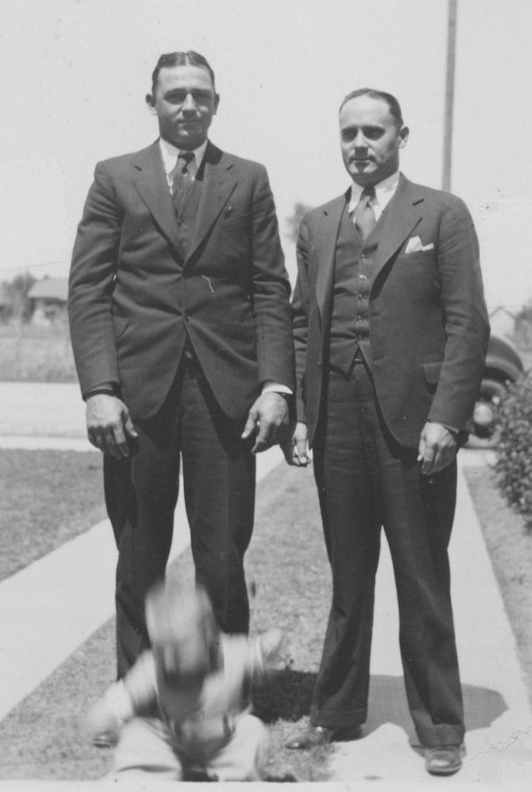 James Duncan Brown (28) and Dewey Brown c. 1932